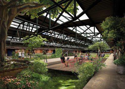 Projekt GreenHall im Oberhafen, Hamburg