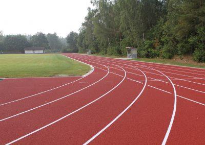 Neubau einer Leichtathletikanlage Typ C, Trappenkamp