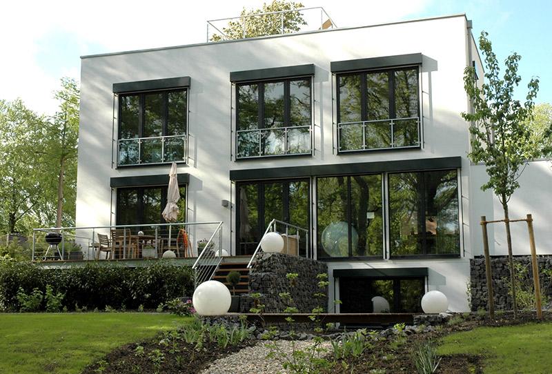 Hausgarten in Hamburg-Duvenstedt