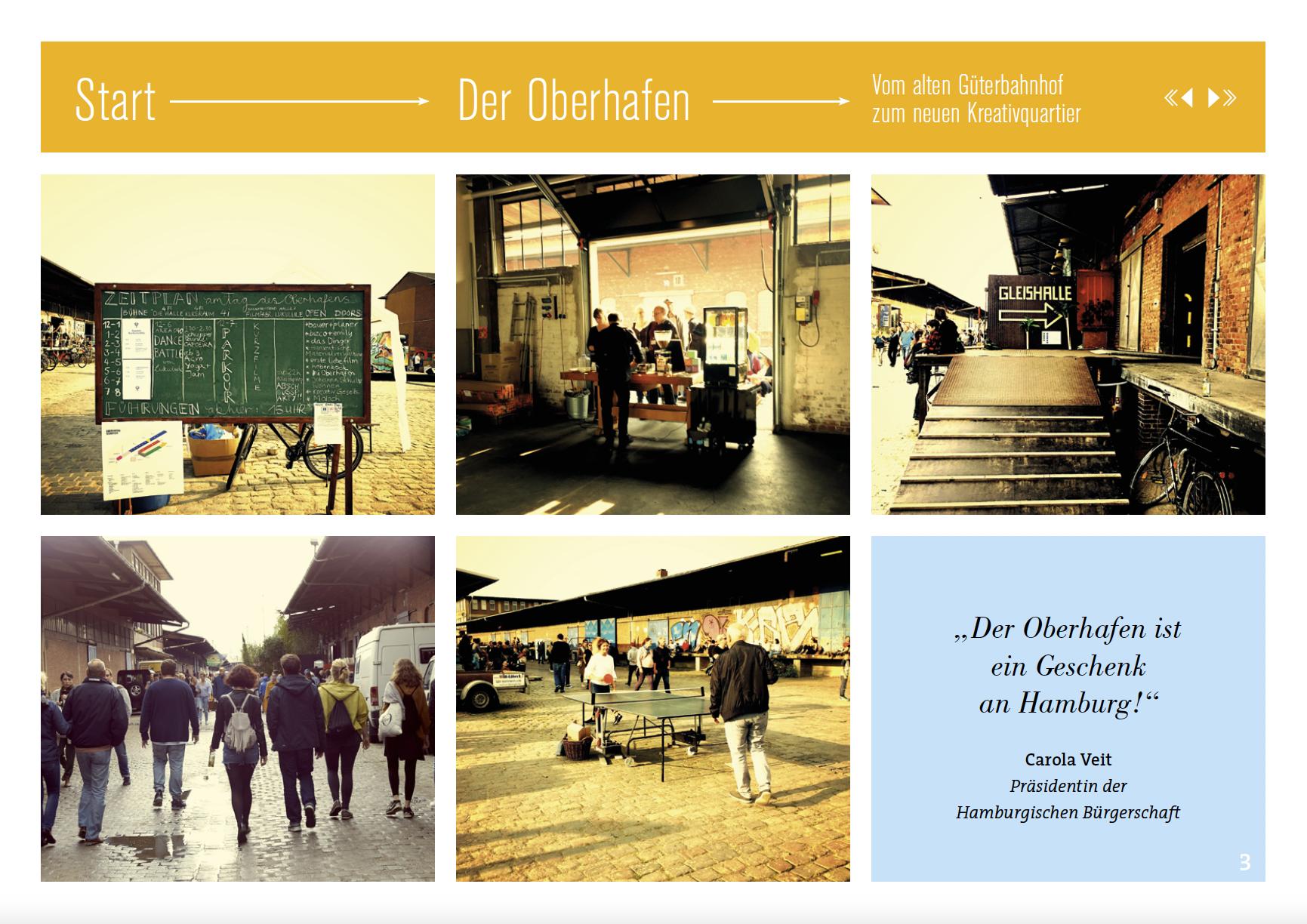 Oberhafen – vom Güterbahnhof zum Kreativquartier
