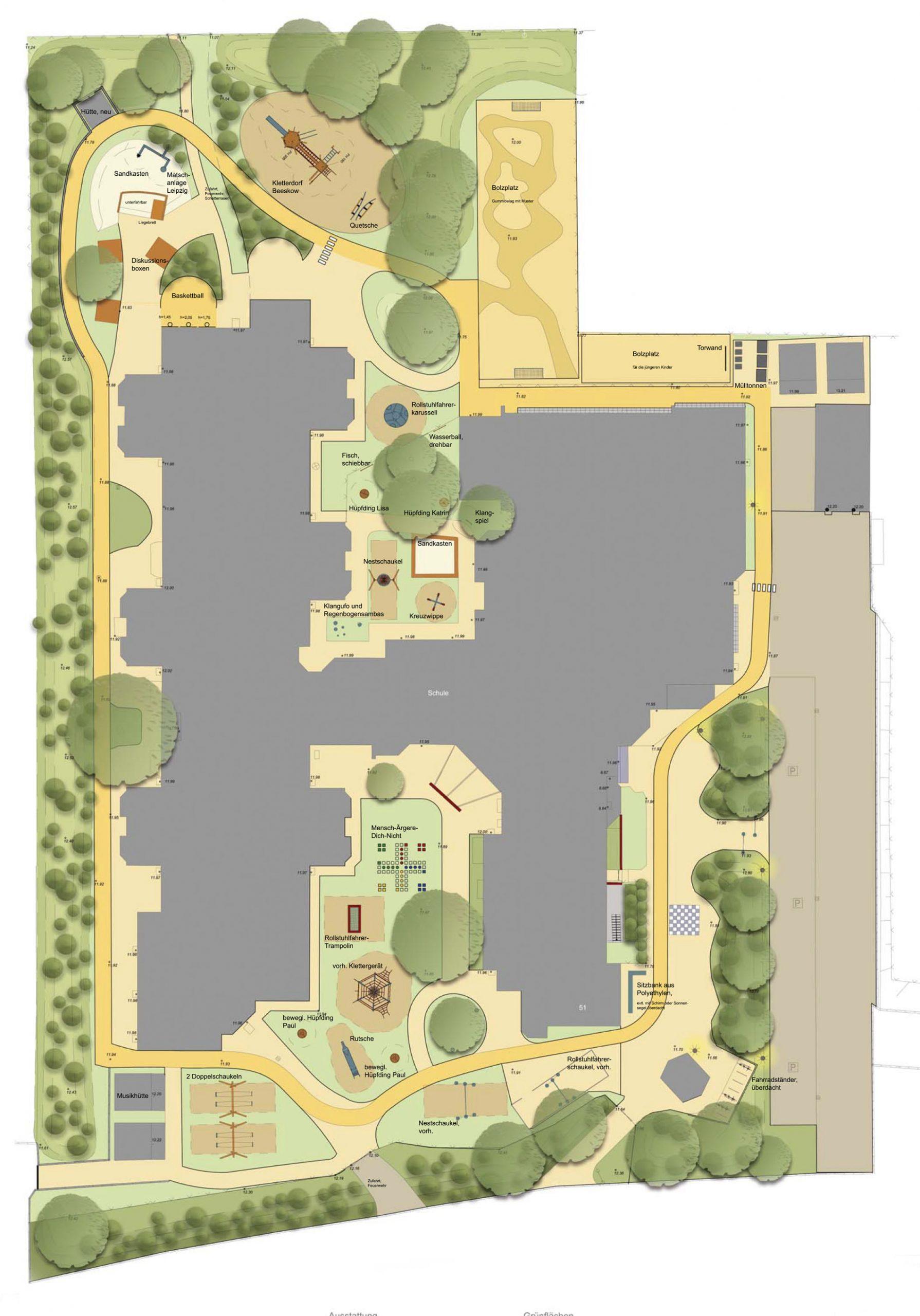 Plan Förderschule Kastanienhof
