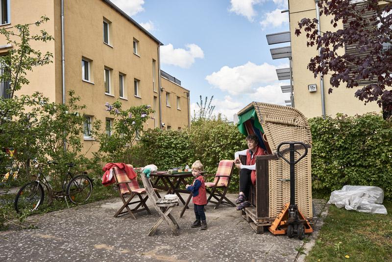 Autofreies Wohnen am Kornweg Hamburg